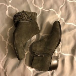 Sam Edelman Gray Booties